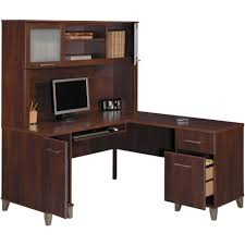 small corner office desk. Desk:Wood Corner Office Desk Wooden Computer Stand Small Table Black Wood