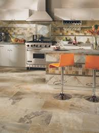 Small Picture Tile Flooring in the Kitchen HGTV