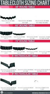 floor length round tablecloth round tablecloth sizes card table size linen chart square rectangle circle and