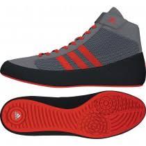 adidas wrestling shoes. youth hvc 2 (grey / solar red grey) adidas wrestling shoes