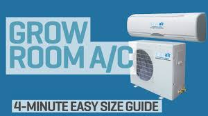 grow room air conditioner. Wonderful Conditioner What Size Air Conditioner Do I Need For My Grow Room Intended Grow Room Air Conditioner YouTube