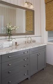 full overlay upper cabinets. full overlay, paint grade, shaker style bathroom vanity cabinet in slate gray satin lacquer for a client the avalon area. | vanities pinterest overlay upper cabinets o