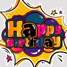 Cartoon Styles Happy Birthday Design Vector 08 Card Fronts