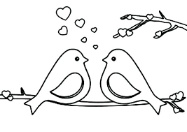 Free Coloring Pages Birds Nip Laceaorg