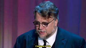 Image result for guillermo del toro shape of water gif