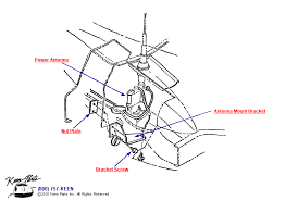 corvette antenna wiring diagram corvette wiring diagrams