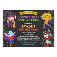 costume party invites halloween birthday invitation printable kids halloween party