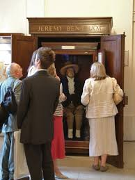 discipline and punish panopticism michel info jeremy bentham s auto icon at university college london