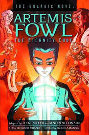 hyperion books s artemis fowl eternity code hard cover 1