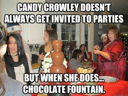 Candy Crowley doesn't always get invited to parties But when she ... via Relatably.com