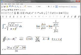 stuck with those equations then math editor can be the right solution for you as this powerful freeware can help you to create mathematical equations with