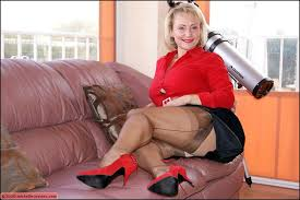 Bbw with nylons and high heels
