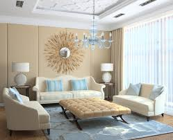 modern light blue translucent glass chandelier modern living room