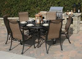 dining room patio outstanding 6 chair set sets outdoor table for decorate a small with leaf