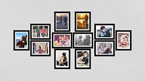 wall decor collage picture frames
