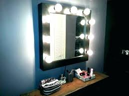 mirrors wall mounted wall mounted lighted makeup mirror attractive bronze lighted makeup mirror wall in throughout