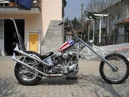 the easy rider chopper is up for auction