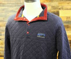 Patagonia Diamond Quilt Snap T Pullover - The Diamond & new patagonia diamond quilt snap t pullover mens l large jacket navy 25425  200 Adamdwight.com