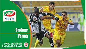 Prediksi Pertandingan Crotone vs Parma