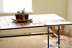 Dining Rooms Chic Diy Plumbing Pipe Dining Table Zoom Plumbers