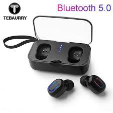 TEBAURRY <b>T18S</b> Invisible Bluetooth Earphones 5.0 <b>TWS Mini</b> ...
