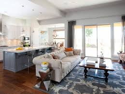 Open Concept Living Room Decorating Contemporary Open Concept Kitchen And Living Room Bathroom