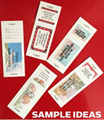 Amazon.com : Printworks Perforated Paper For Raffle Tickets, Coupons ...