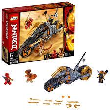 LEGO Ninjago Cole's Dirt Bike 70672 Dirt Bike Toy Building Kit (212 Pieces)  - Walmart.com - Walmart.com