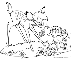 Small Picture Bambi coloring pages Coloring pages for kids disney coloring