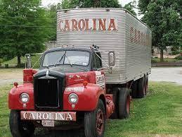 B Mack for Carolina Freight. | Classic trucks, Cool trucks, Mack trucks