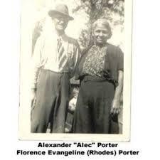Florence Evangeline (Rhodes) Porter (1890-1964)   WikiTree FREE Family Tree