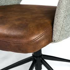 brown office chair leather canada chairs on