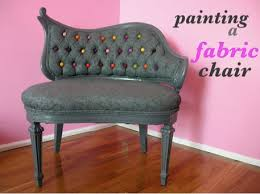 painting fabric furnitureReupholster Furniture with Paint  Craftfoxes
