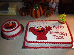 Elmo 1st Birthday And Smash Cake Cakecentralcom