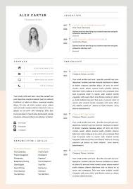 Modern Resume Template Oddbits Studio Free Download Modern Resume Template Cover Letter Icon Set By Oddbitsstudio
