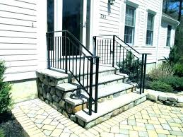 exterior wrought iron stair railings. Brilliant Railings Exterior Stair Railing Kits Elegant  Pertaining To Wrought Iron Railings Decorations  In Exterior Wrought Iron Stair Railings