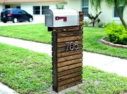 stone mailbox designs. Faux Stone Post Covers Mailbox Design Cast Ideas Brick Designs Custom S