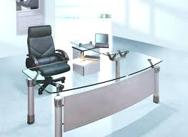 curved office desk. Office Desk Curved White Awesome Glass
