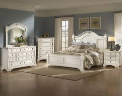 Gorgeous Distressed White Bedroom Furniture on Interior Decor Home