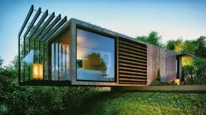 shipping containers office. Cantilevered Shipping Container Garden Office Containers