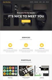 Single Page Website Template Inspiration 28 Single Page Website Themes Templates Free Premium Templates