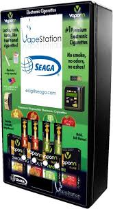 Electronic Cigarette Vending Machine Adorable ECigarette Maker Partners With Seaga For 'Vapestation' Vending