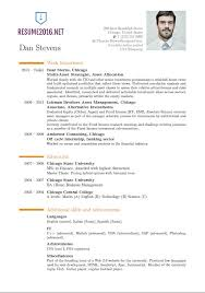 Most Updated Resume Format The Most Professional Resume Format