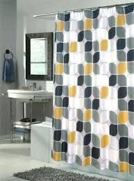 patterned shower curtains orange patterned shower curtains amusing design modern featuring white gray colors curtain and patterned shower curtains