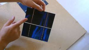 how to make a solar panel first step solar cell tabbing how to tab solar cells you