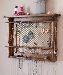 wall mount jewelry holder wall mounted jewellery holder