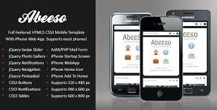 Mobile Site Template Html5 Bootstrap App Pepino Co