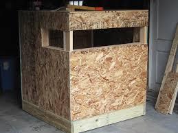 Build Your Own Deer Blind Stand Window U0026 Door Construction Plans How To Make Windows For A Deer Blind