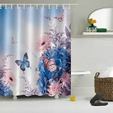 spring erfly flowers polyester