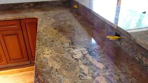 Crema Bordeaux Granite Kitchen Crema Bordeaux Custom Granite Countertop Youtube